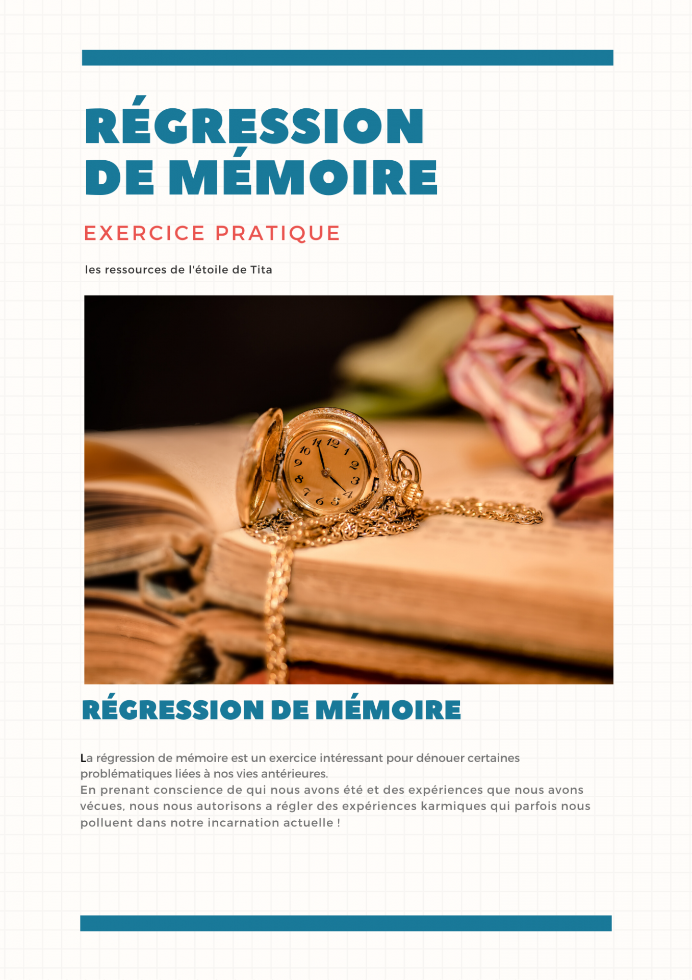 régression de mémoire